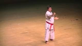 getlinkyoutube.com-Masatoshi Miyazato 10° Dan Karate Do Miyazato Dojo Shorin Ryu Shidokan Argentina
