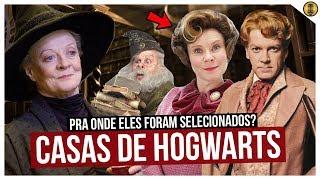 QUAL É A CASA DE HOGWARTS DOS PROFESSORES EM HARRY POTTER?
