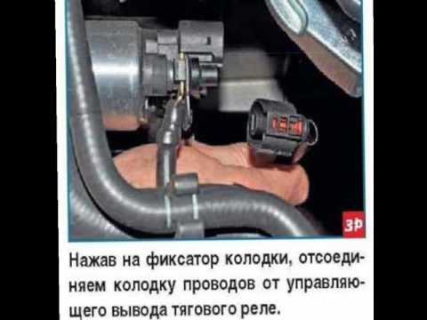 Снятие и проверка стартера поло седан!