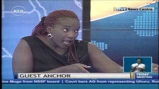 Guest anchor Awiti of Real Househelps of Kawangware tells her challenges in real life