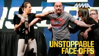 getlinkyoutube.com-UFC Unstoppable Press Conference Staredowns