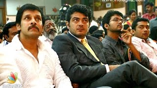 getlinkyoutube.com-Ajith and Vijay to team up with Vikram   Rain relief   Hot Tamil Cinema News
