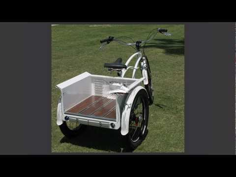 Custom Beach Cruiser Trike, The
