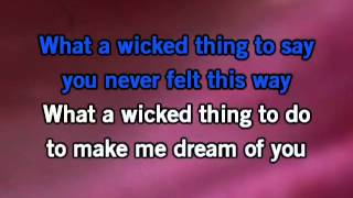 getlinkyoutube.com-Wicked Game Karaoke
