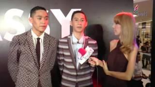 getlinkyoutube.com-กัปตัน เงิน ออกัส เท็ก งาน Vogue Fashion Night Out ไทยทีวี 27/09/2014