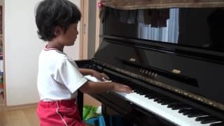 getlinkyoutube.com-つむぎうた エルメンライヒ 5歳 ピアノ ぴあのどりーむ  Spinnerlied Ellmenreich
