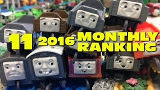 "getlinkyoutube.com-Thomas and friends ""11.2016 Monthly Ranking"""