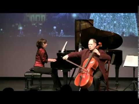 Saint-Saens  The Swan   Vasily Popov cello, Natasha Dukan piano