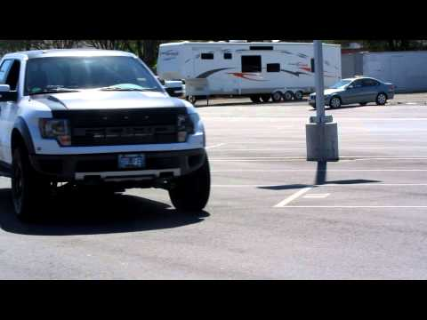630hp Supercharged Ford Raptor burning rubber