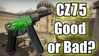 getlinkyoutube.com-CZ75 Auto Pistol - Should YOU use it? (CS:GO)