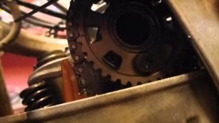 getlinkyoutube.com-How to do valve clearance & adjustment on Honda crf 450 x Part 2