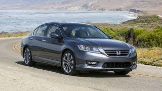 getlinkyoutube.com-2013 Honda Accord Sport: CVT vs 6 Speed Manual 0-60 MPH Mashup Review