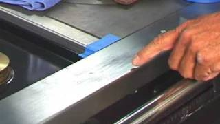 getlinkyoutube.com-Restore Stainless steel appliance surfaces, remove scratches and more with Scratch-B-Gone