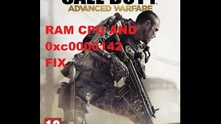 getlinkyoutube.com-Call of Duty: Advanced Warfare CPU ,Ram and 0xc0000142 error Fix and 1.03 patch. + multiplayer