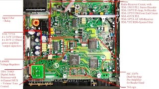getlinkyoutube.com-Car Stereo Teardown, Analysis and Hack  - Blaupunkt Car 300