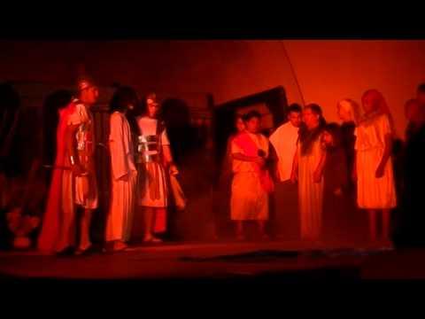 Obra de teatro cristiana en pascua La pasión