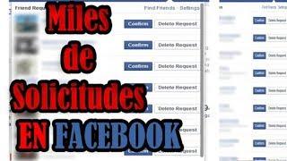 getlinkyoutube.com-Como Tener Miles De Solicitudes y Seguidores En Facebook-#Enero 2017 (Funciona)