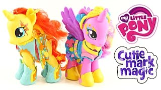 getlinkyoutube.com-BIG My Little Pony Toy Haul Unboxing Fashion Style Ponies Water Cuties Princess Cadance MLP DCTC