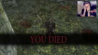 PewDiePie Dark Souls II [Best of] + All Bosses - Part 1