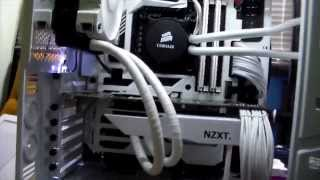 getlinkyoutube.com-ALL WHITE PC RIG 4K BUILD 2014 PNY GTX 780 TI WATER COOLED