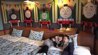 getlinkyoutube.com-トーマスルーム 【トーマスとティドマスきかんこのお部屋】 泊まったよ♡ おでかけ Thomas And Friends Roomこうくん4歳