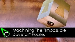 "getlinkyoutube.com-Machining The ""Impossible Dovetail"" Puzzle - 100,000 Subscribers Thank You Giveaway (Winner Drawn!)"