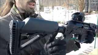 getlinkyoutube.com-Вепрь-12 Молот. ВПО-205. Тюнинг от Фрезера. Vepr 12 Shotgun.