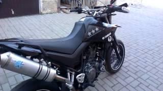 getlinkyoutube.com-Yamaha XT 660 X Leo Vince, Tuning tail