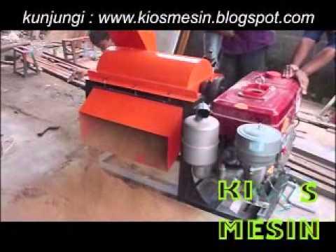mesin penghancur atau penggiling tandan kosong sawit dan sabut kelapa
