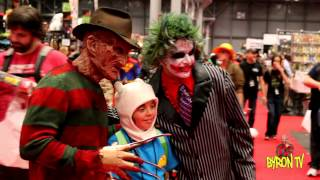 getlinkyoutube.com-Freddy krueger - NY Comic con 2014 Part 3