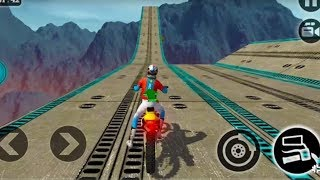 IMPOSSIBLE MOTOR BIKE TRACKS 3D #Dirt Motor Cycle Racer Game #Bike Games To Play #Games For Kids width=