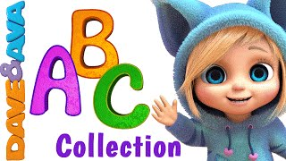 getlinkyoutube.com-ABC Song | Nursery Rhymes Collection | YouTube Nursery Rhymes from Dave and Ava