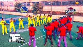 getlinkyoutube.com-GTA 5 ONLINE -  CAVS FANS VS WARRIORS FANS (GTA 5 SKIT)