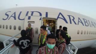 jemaah SBL 14/5/2016 landing at KING ABDUL AZIZ airport-jeddah