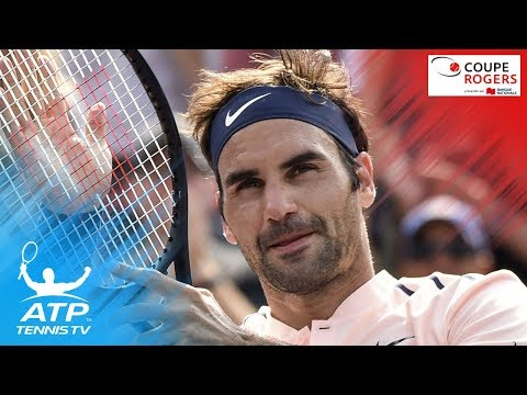Best shots from Roger Federer`s win over Robin Haase | Coupe Rogers Montreal 2017 Semi-Final
