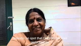 Knee replacement in Chennai - patient story after two years