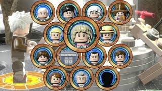 getlinkyoutube.com-LEGO Dimensions - A Look at All 13 Doctors and TARDIS Interiors (Doctor Who Level Pack)