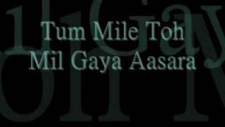 getlinkyoutube.com-Tum Mile with lyrics