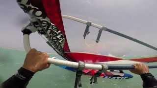 getlinkyoutube.com-Waterstart windsurf Fuerteventura Sotavento