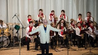 "getlinkyoutube.com-latino Love Walk - M. Ferguson - Orchestra "" Little Band"" and Daniel Varfolomeyev 13 years"