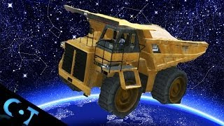 getlinkyoutube.com-GTA Online: Gate Glitch Launches Dump Truck Into Space + Deep Sea Survival Glitch