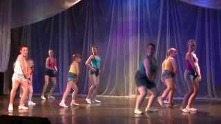 getlinkyoutube.com-Клубные танцы (девочки 10-14 лет). Преподаватель -  Аня Пименова