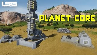 getlinkyoutube.com-Space Engineers - Centre Of The Planet Drilling
