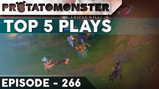 League of Legends Top 5 Plays Episode 266