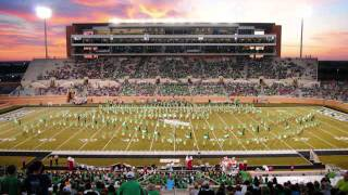 UNT Green Brigade plays You'll Never Walk Alone