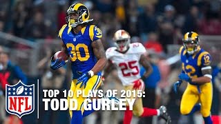 getlinkyoutube.com-Top 10 Todd Gurley Highlights of 2015 | NFL
