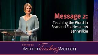 getlinkyoutube.com-Revive '15: Jen Wilkin—Teaching the Word in Fear and Fearlessness