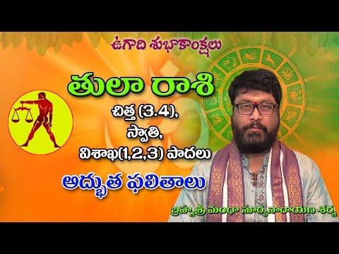 తులా రాశి | Tula raasi | Hevilambi | Ugadi Rasi Phalalu | Telugu Astrology | Rasi Phalalu 2017 | tel