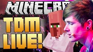getlinkyoutube.com-TRAYAURUS GETS KIDNAPPED   TheDiamondMinecart LIVE   Minecraft