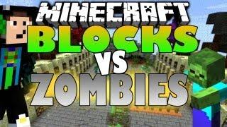 Minecraft BLOCKS VS ZOMBIES - Tower Defense Mini Game - [Deutsch][HD] l GommeHD